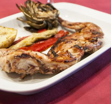 GRILLED RABBIT